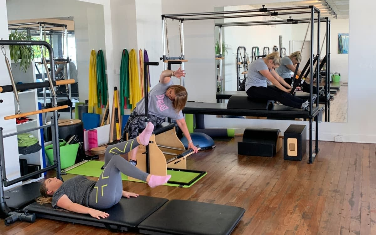 360 Studio Pilates Class