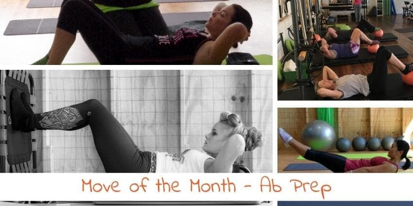 Pilates Ab Curl - Move of the Month - Sep17